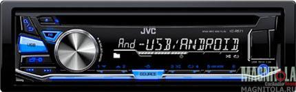 CD/MP3-ресивер с USB JVC KD-R571E