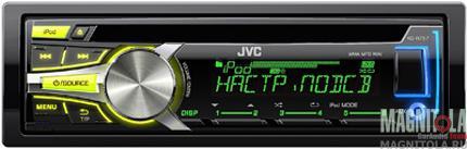 CD/MP3-ресивер с USB JVC KD-R757EE