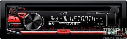 CD/MP3-ресивер с USB и поддержкой Bluetooth JVC KD-R771BTE