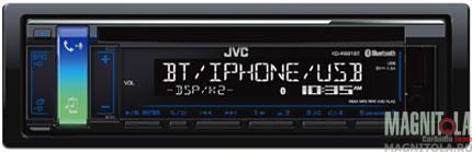 CD/MP3-ресивер с USB и поддержкой Bluetooth JVC KD-R881BT