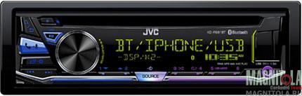 CD/MP3-ресивер с USB и поддержкой Bluetooth JVC KD-R981BT