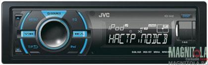 Цифровой медиаресивер JVC KD-X40EE