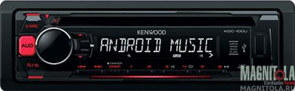 CD/MP3-ресивер с USB Kenwood KDC-100UR