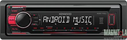 CD/MP3-ресивер с USB Kenwood KDC-110UR