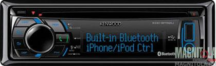 CD/MP3-������� � USB � ���������� Bluetooth Kenwood KDC-BT52U