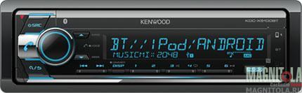 CD/MP3-ресивер с USB и поддержкой Bluetooth Kenwood KDC-X5100BT