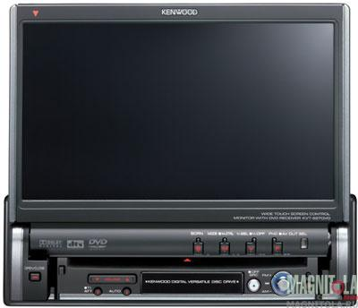 Kenwood Car Stereo Showing Protect