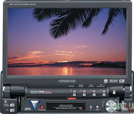 центр Kenwood KVT-725DVD-B