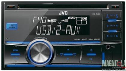 2DIN CD/MP3-������� � USB JVC KW-R400EE