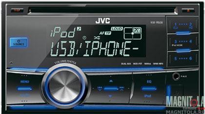 2DIN CD/MP3-ресивер с USB JVC KW-R500