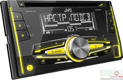 2DIN CD/MP3-ресивер с USB JVC KW-R510EE