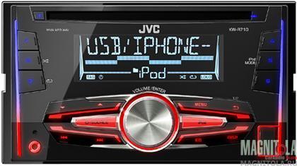 2DIN CD/MP3-ресивер с USB JVC KW-R710