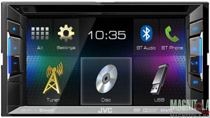 2DIN мультимедийный центр с поддержкой Bluetooth JVC KW-V21BTEE