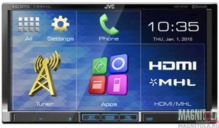 2DIN мультимедийный центр с поддержкой Bluetooth JVC KW-V51BTEE