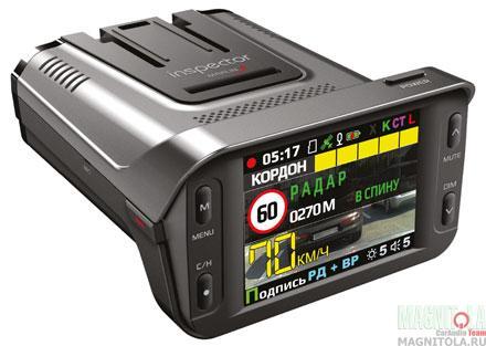 Автомобильный видеорегистратор/радар-детектор Inspector MARLIN S