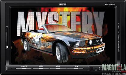 2DIN мультимедийный бездисковый ресивер Mystery MDD-7120S