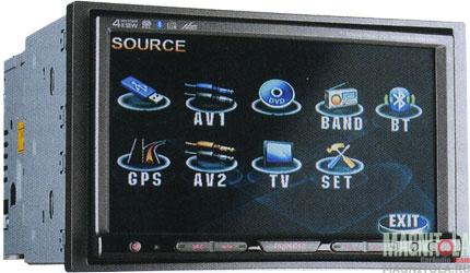 2DIN мультимедийный центр с навигацией Prology MDN-2740T BR