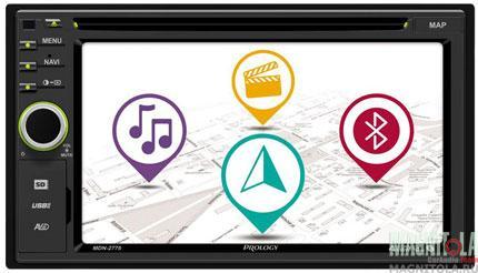 2DIN мультимедийный ресивер с навигацией и поддержкой Bluetooth Prology MDN-2775