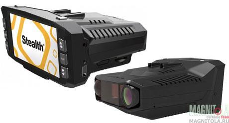 Автомобильный видеорегистратор/радар-детектор Stealth MFU 630