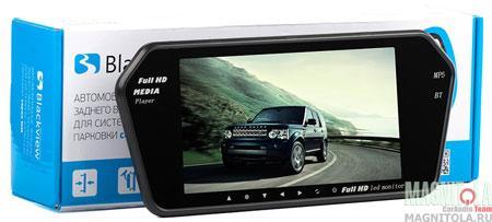 Парковочный монитор для коммерческого транспорта (зеркало) с поддержкой Bluetooth Blackview MM-72 BT