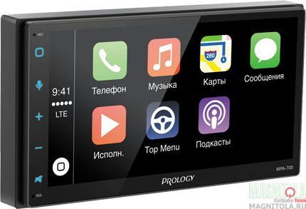 2DIN мультимедийный бездисковый ресивер с навигацией и поддержкой Bluetooth Prology MPA-700