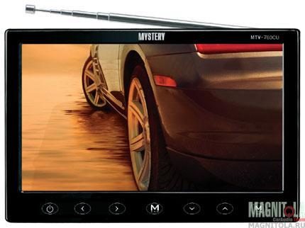 Автомобильный телевизор Mystery MTV-760CU black