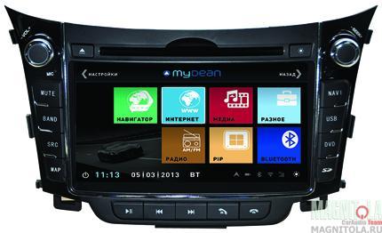 Мультимедийная система для штатной установки, с навигацией для Hyundai i30 (2007-2012) MyDean 1156