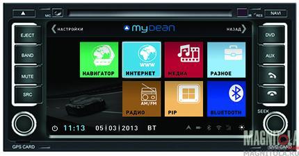 Мультимедийная система для шатной установки, с навигацией для Volkswagen Touareg (2002-2010) MyDean 3042