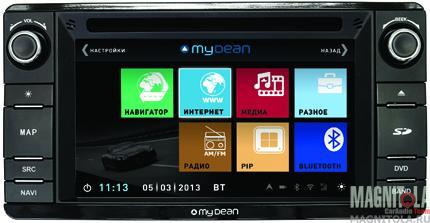 Мультимедийная система для штатной установки, с навигацией для Mitsubishi Outlander (2012-), ASX , Lancer X MyDean 3230
