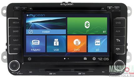Мультимедийная система для штатной установки, с навигацией для автомобилей VW, Skoda MyDean W004
