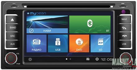 Мультимедийная система для штатной установки, с навигацией для Toyota MyDean W071