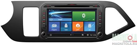 Мультимедийная система для штатной установки, с навигацией для KIA Picanto (2011-) MyDean W217