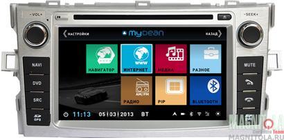 Мультимедийная система для штатной установки, с навигацией для Toyota Verso (2012-) MyDean 3133