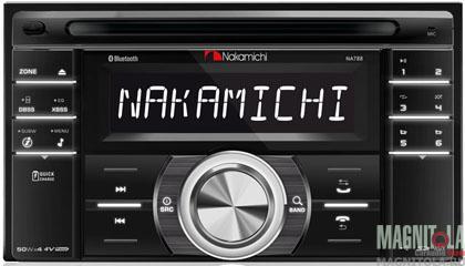 2DIN CD/MP3-ресивер с USB и поддержкой Bluetooth Nakamichi NA788