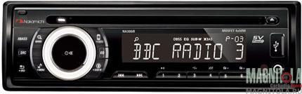 CD/MP3-ресивер с USB Nakamichi NA300iR