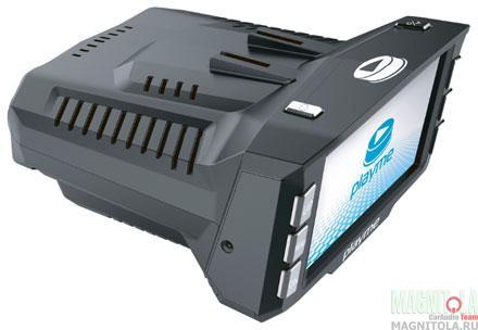 Автомобильный видеорегистратор/радар-детектор Playme P200 TETRA