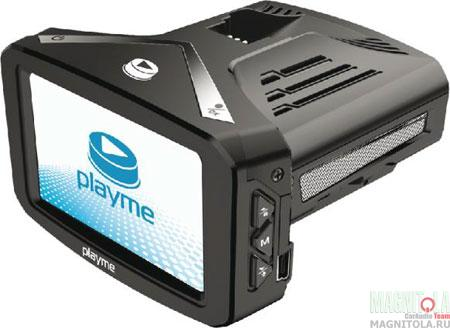 Автомобильный видеорегистратор/радар-детектор Playme P300 TETRA