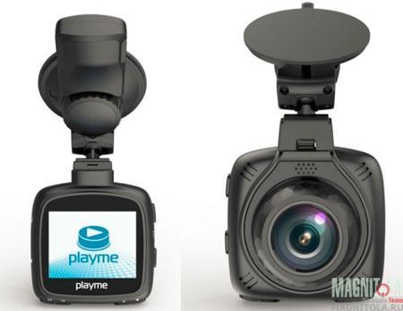 Автомобильный видеорегистратор/радар-детектор Playme MAXI
