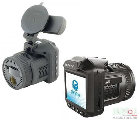 Автомобильный видеорегистратор/радар-детектор Playme P450 TETRA