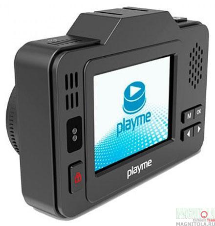 Автомобильный видеорегистратор/радар-детектор Playme P550 TETRA