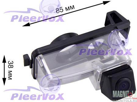 Камера заднего вида для автомобилей Nissan Patrol 97-10, Tiida sedan Pleervox PLV-CAM-NIS03