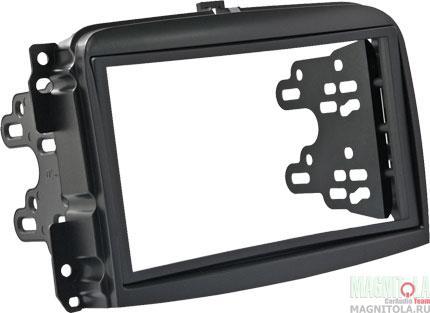 Переходная рамка 2DIN для автомобилей Fiat 500L (крепеж) INTRO RFI-N07A