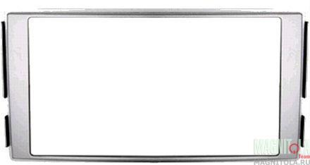 Переходная рамка 2DIN для автомобилей Hyundai Santa Fe 06-12 silver INTRO RHY-N04