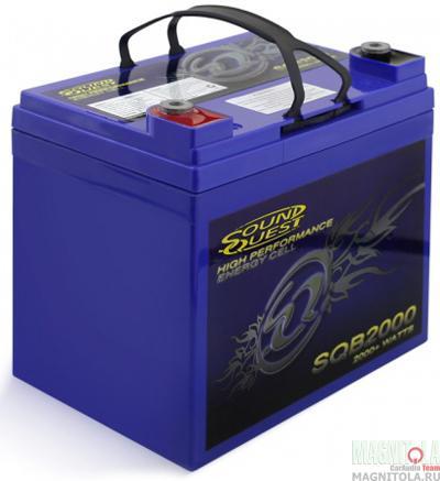Автомобильный аккумулятор Sound Quest SQB2000 AGM