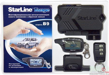 Автомобильная сигнализация StarLine Twage B9