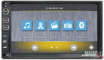2DIN мультимедийный бездисковый ресивер SWAT CHR-4100