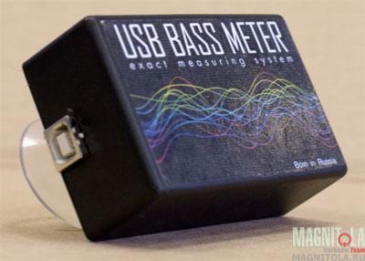 Программно-аппаратный комплекс для измерения и анализа сигналов звуковой частоты высокого давления SPL-Laboratory USB BASS Meter