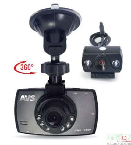 Автомобильный видеорегистратор AVS VR-246DUAL