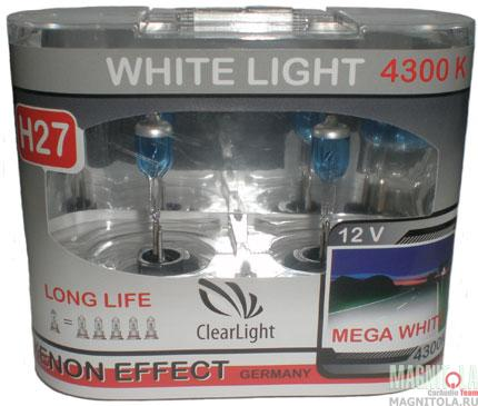 Галогеновая лампа ClearLight H27 WhiteLight