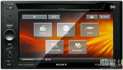 2DIN мультимедийный центр Sony XAV-E622